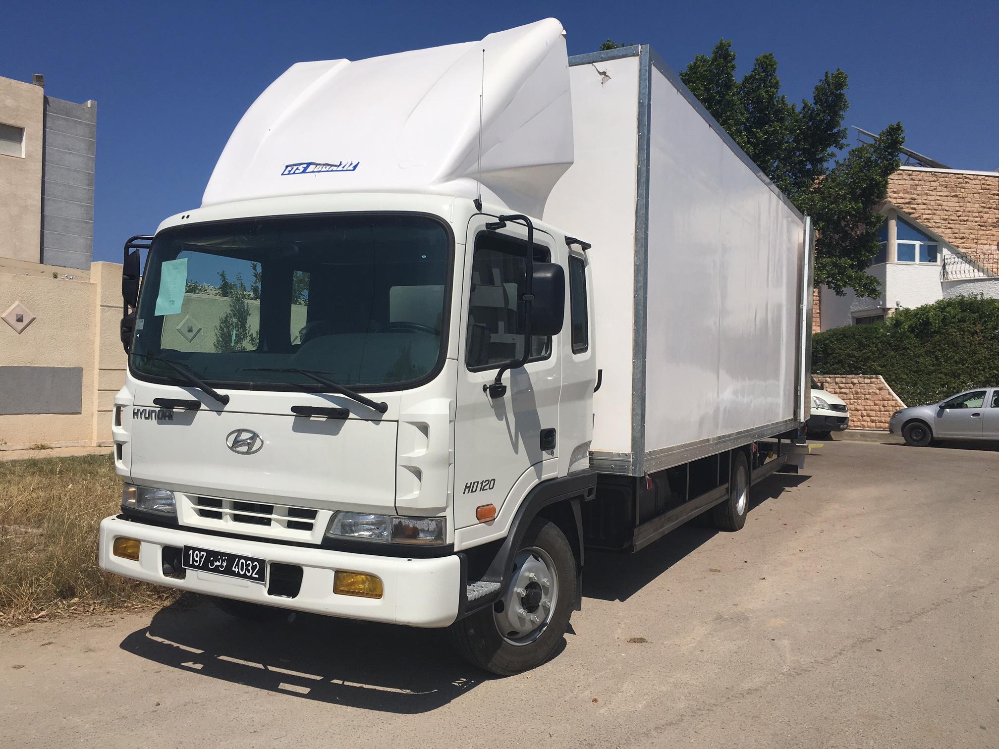 HYUNDAI HD 35 (camion camera)