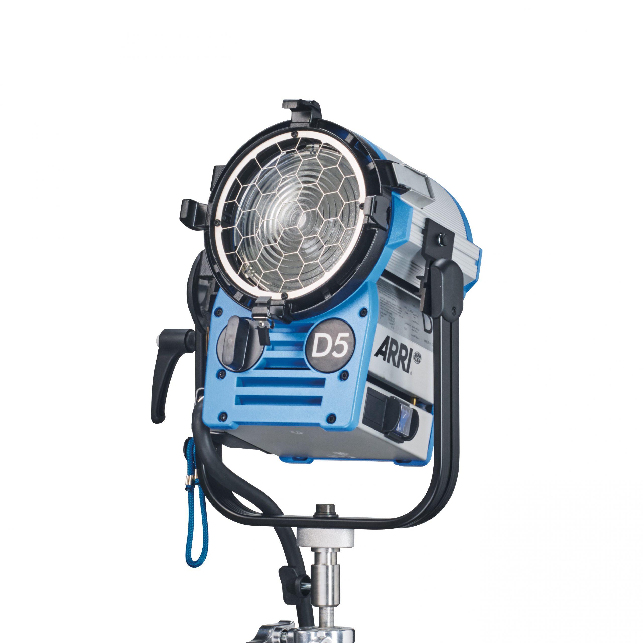 ARRI True Blue D5 MAN, VEAM, blue silver
