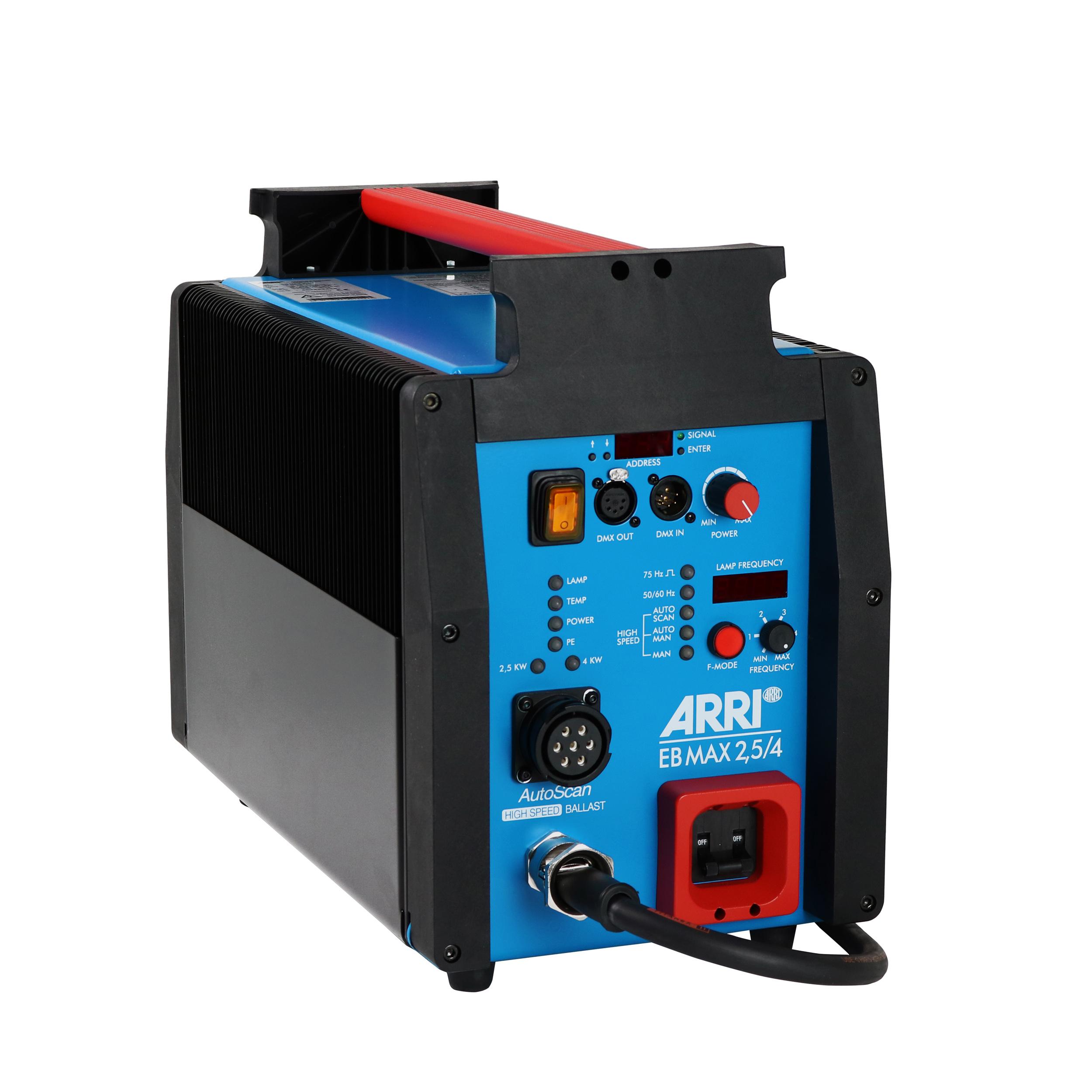 ARRI EB 2.5/4, ALF,DMX, VEAM, 50/60/75 Hz, 115/230 V~ bare ends