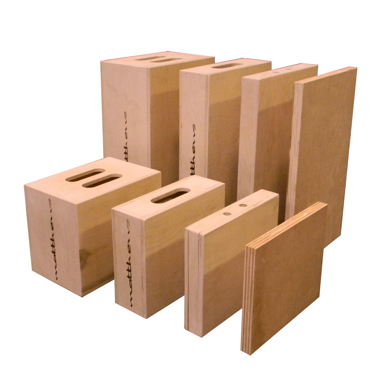 Apple Box Quarter 12″ x 2″ x 20″