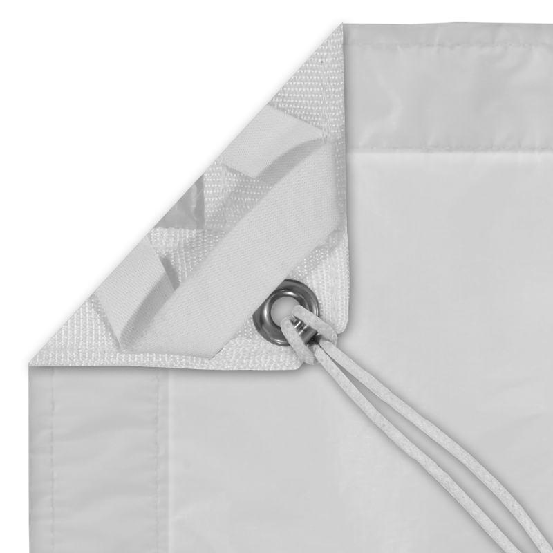 Grid Cloth 12′ x 12′ , Quarter White