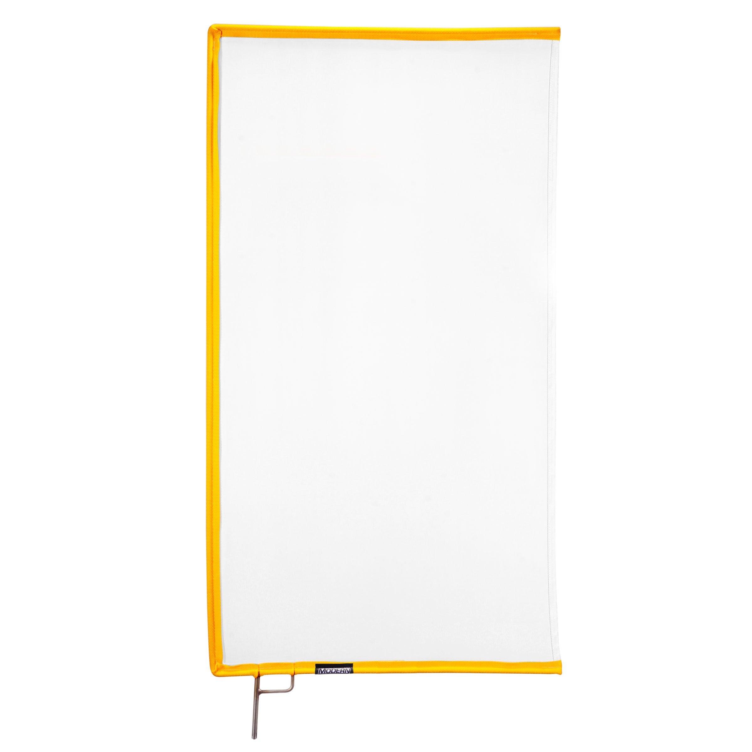 Silk Quarter White 18″ x 24″ (blanc)
